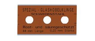 13-030-052.250AH 250 Stück Glashobelklingen 44 mm