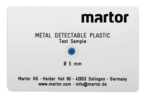 9900.09 Martor 1 Stück MDP Prüfkartenset Acryl Nr. 9900