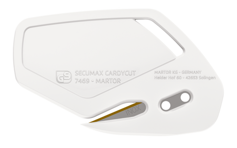00746922.12 Martor 10 Stück Secumax Cardycut weiß, Inox, TiN, 2 mm