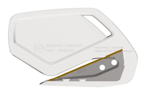 546912.16.1 Martor 1 Stück Secumax Cardycut transparent, Inox,TiN