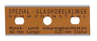 13-230-052.10AH 10 Stück Glashobelklingen 60 mm, 64060