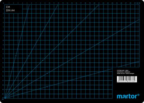 3001.06 Martor 1 Stück Schneidematte 870 x 620 x 3 mm Nr. 3001