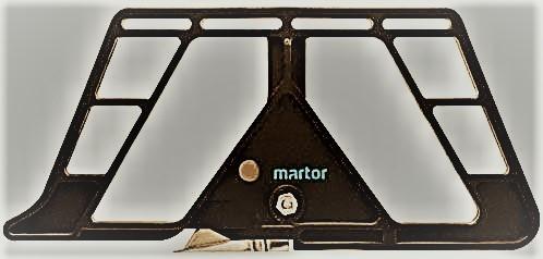 06.08.1US 1 Stück Martor Zepher Sicherheitsmesser